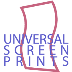 Universal Screen Prints logo